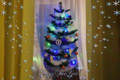 Congratulazioni di Natale e del nuovo anno fotografie stock libere da diritti