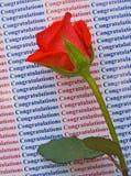 Congratulazioni sul vostro successo. fotografie stock