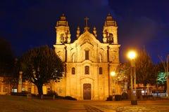 Congregados basilika, Braga, Portugal Fotografering för Bildbyråer