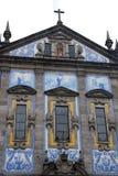 Congregados Kirche Porto, Portugal Lizenzfreies Stockfoto