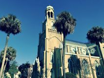 Congregation Mickve Israel in Savannah, Georgia, is one of the oldest in the United States, as it was o in Savannah, Georgia - USA. Congregation Mickve Israel in Stock Photo