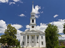 Congregational Church in Williamstown Royalty Free Stock Photography