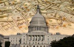 Congres die Uw Geld besteden Stock Foto's