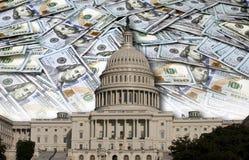 Congres die Uw Geld besteden Stock Afbeeldingen