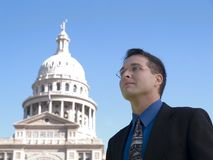 Congres lobbyist Stock Fotografie