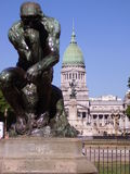 Congreso of Buenos Aires Royalty Free Stock Photos