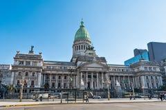 Congreso de Ла Nacion Аргентина, в Буэносе-Айрес Аргентине Стоковое Изображение RF