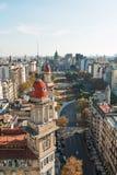 Congreso de Ла Nacion Аргентина, в Буэносе-Айрес Стоковые Фотографии RF