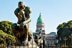 Congreso de la Nacion Argentina, a Buenos Aires Argentina Fotografia Stock