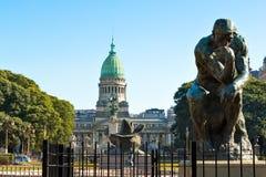 Congreso de la Nacion Argentina, in Buenos Aires Argentina Stock Photography