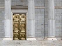 Congreso español de diputados de Madrid Imagen de archivo libre de regalías