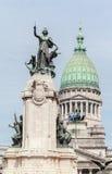 Congreso Nacional Buenos Aires Argentyna Obraz Stock