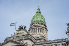 The Congress of the Argentine Nation. Royalty Free Stock Photography