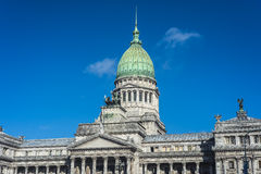 The Congress of the Argentine Nation. Royalty Free Stock Images