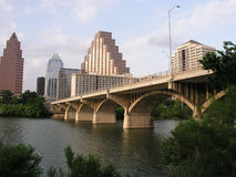 Congress Avenue Bridge Royalty Free Stock Photos