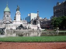 Congress of Buenos Aires, Argentina Royalty Free Stock Photography