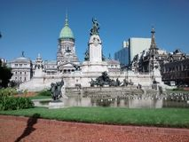 Congress of Buenos Aires, Argentina Royalty Free Stock Images