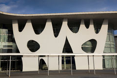 Congress building, Barcelona, Cataluna, Spain Royalty Free Stock Images