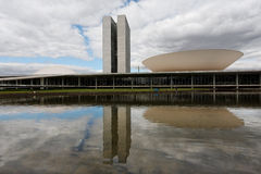 Congress Building in Brasilia Stock Images