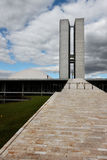 Congress Building in Brasilia Stock Images