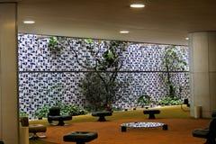 Congress Building Interior in Brasilia stock photo