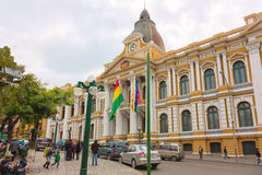 Congress Building in La Paz Stock Photography