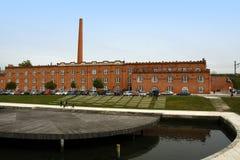 Congress center on Aveiro Stock Image