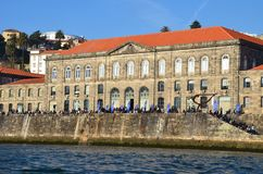 Congress Center Customs, Porto. Portugal Royalty Free Stock Photos