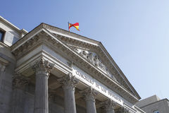 Congress of Deputies royalty free stock photo