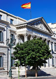 Congress of Deputies, Madrid Stock Image