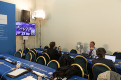 Congress of the European People`s Party EPP in Malta Royalty Free Stock Photos