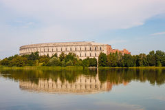 The Congress Hall (Kongresshalle), Nuremberg, Germany. The unfinished building of The Congress Hall (Kongresshalle), a part of the former Nazi Party Rally Royalty Free Stock Images