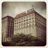 Congress Hotel Chicago Royalty Free Stock Image