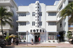 The Congress Hotel Ocean Drive Stock Image
