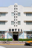 Congress Hotel, South Beach Royalty Free Stock Images