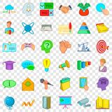 Congress icons set, cartoon style. Congress icons set. Cartoon style of 36 congress vector icons for web for any design stock illustration