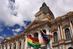 Congress in La Paz, Bolivia Stock Image