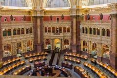 Congress Library Ceiling Washington Stock Photography