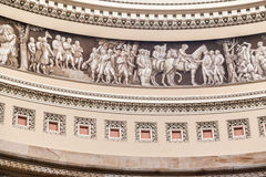Congress Library Rotunda Washington Royalty Free Stock Photos