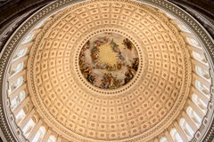 Congress Library Rotunda Washington Royalty Free Stock Image