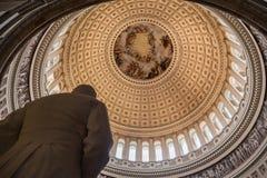 Congress Library Rotunda Washington Royalty Free Stock Images