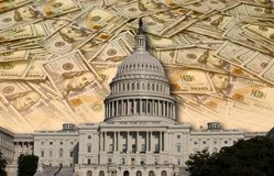 Congress Spending Your Money. Stock Photos