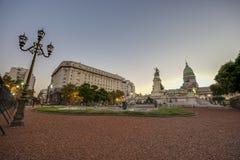 Congress Square in Buenos Aires, Argentina Stock Photos