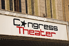 Congress Theater Royalty Free Stock Images