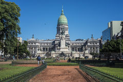 Congressional Plaza in Buenos Aires, Argentina Royalty Free Stock Images