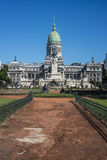 Congressional Plaza in Buenos Aires, Argentina Royalty Free Stock Photography