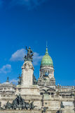 Congressional Plaza in Buenos Aires, Argentina Royalty Free Stock Photo