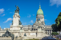 Congressional Plaza in Buenos Aires, Argentina Stock Images