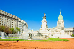 Congressional Plaza, Buenos Aires Stock Photography