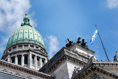 Congressional Plaza Stock Image